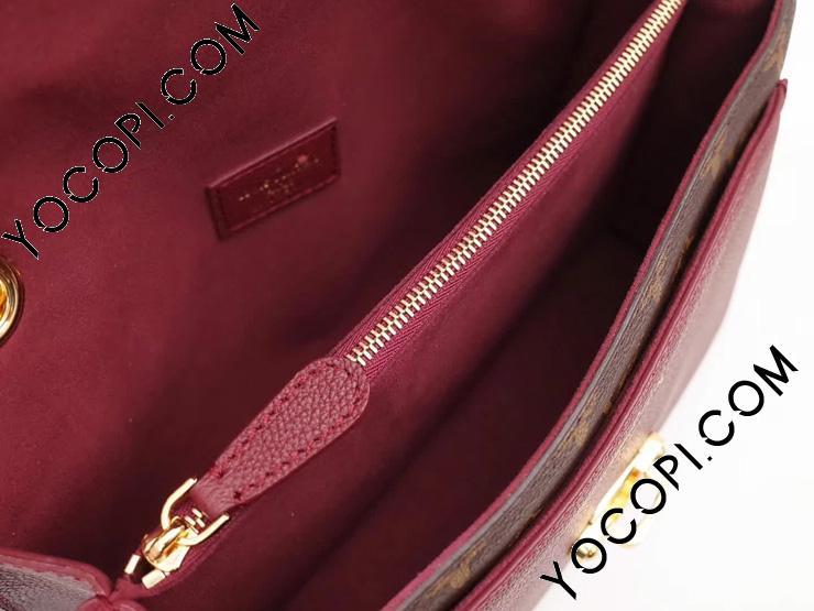 【M41732】 ルイヴィトン モノグラム バッグ コピー 「LOUIS VUITTON」 ヴィクトワール パープル チェーンショルダーバッグ