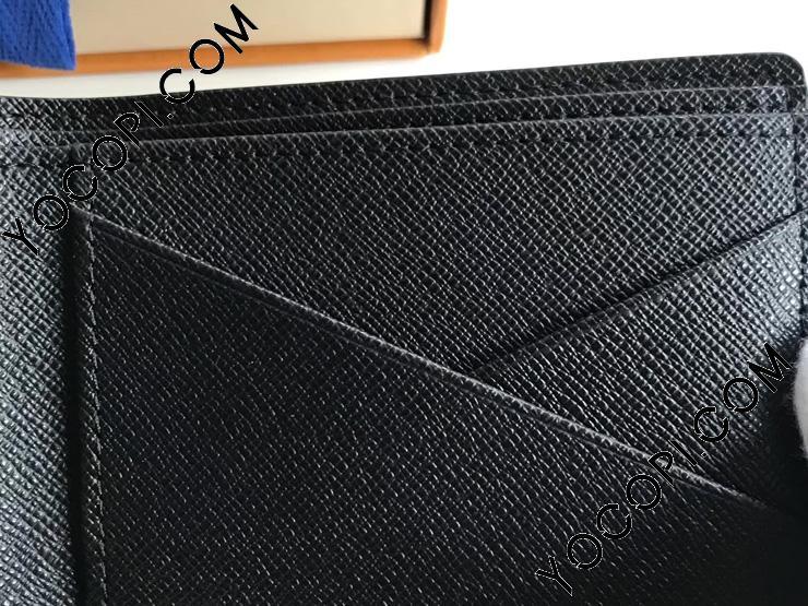 【N62663】 ルイヴィトン メンズ 二つ折り財布 ポルトフォイユ・ミュルティプル 「LOUIS VUITTON」 ヴィトン ダミエ・グラフィット 財布 コピー