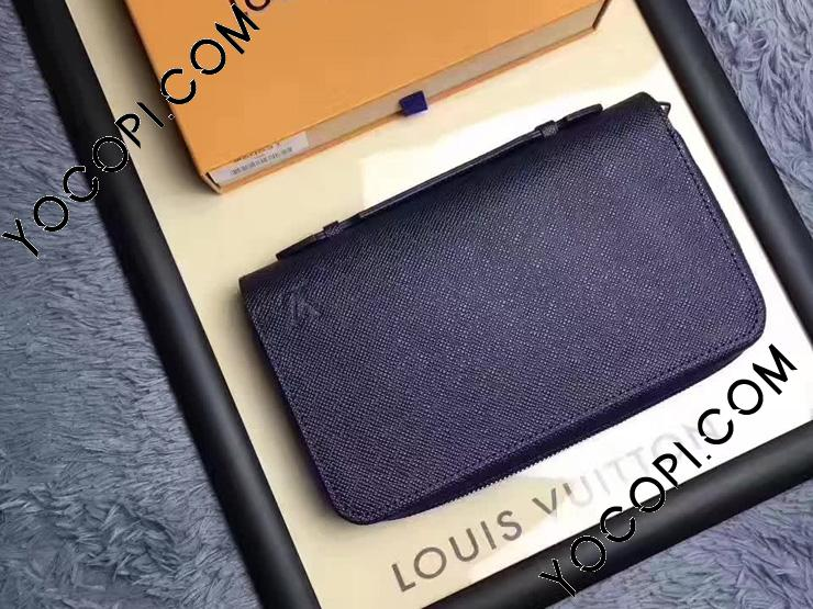 【M42098】 LOUIS VUITTON ルイヴィトン タイガ 財布 コピー ジッピーXL ウォレット ヴィトン メンズ 人気 ラウンドファスナー長財布 3色可選択 オセアン