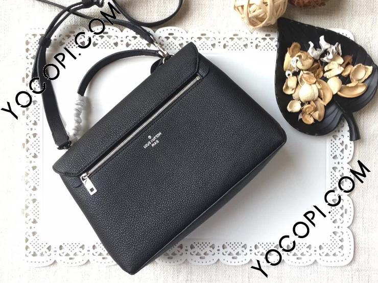【M54849】 LOUIS VUITTON ルイヴィトン ハンドバッグ スーパーコピー マイロックミー LockMe トリヨンレザー ショルダーバッグ2WAY 4色可選択 ブラック