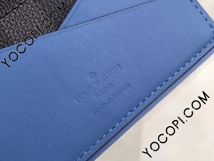 【N41690】 LOUIS VUITTON ルイヴィトン ダミエ・グラフィット 財布 コピー オーガナイザー・ドゥ ポッシュ ヴィトン メンズ 二つ折り財布 2色 グラフィット