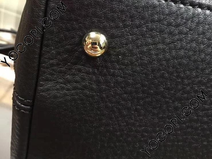 【308362 A7M0G 1000】 GUCCI グッチ ソーホー バッグ コピー Soho トップハンドルバッグ レディース ショルダーバッグ 2色可選択 ブラック レザー