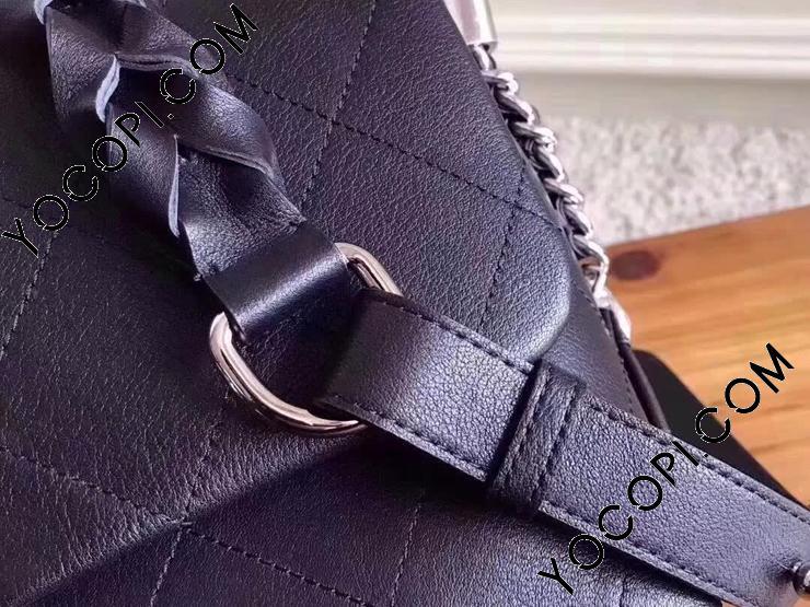 【A57116 Y83246 94305】 CHANEL シャネル レディース バッグ スーパーコピー Flap bag ハンドバッグ 18年新作 グレインド カーフスキン & カーフスキン 29CM ブラック