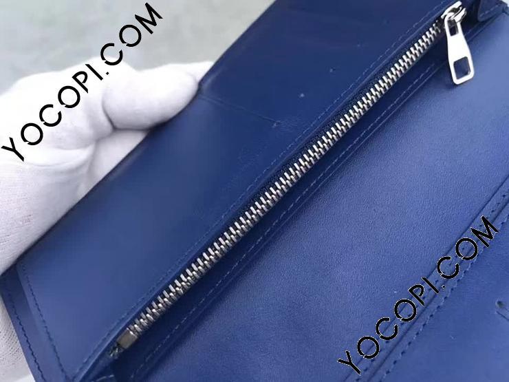 【N63205】 LOUIS VUITTON ルイヴィトン ダミエ・アンフィニ 長財布 コピー ポルトフォイユ・ブラザ ヴィトン メンズ 二つ折り財布 ネプテューヌ