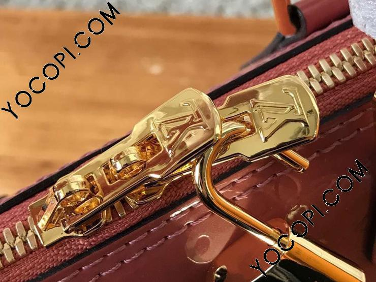 【M94769】 LOUIS VUITTON ルイヴィトン モノグラム・ヴェルニ バッグ スーパーコピー アルマ BB ハンドバッグ ヴィトン レディース ショルダーバッグ 4色可選択 ヴィユーローズ