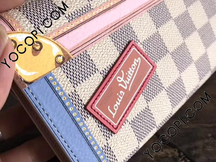 the best attitude 7e2f5 f72b3 N60119】 LOUIS VUITTON ルイヴィトン ダミエ・アズール 財布 ...